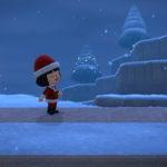 クリスマス記念案内所前